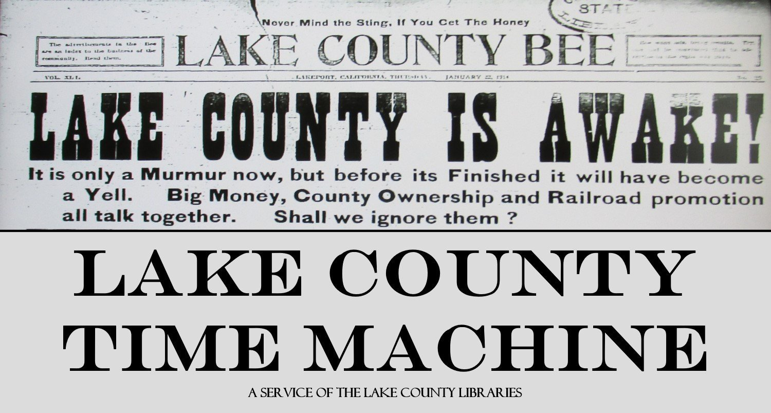 LAKE COUNTY TIME MACHINE