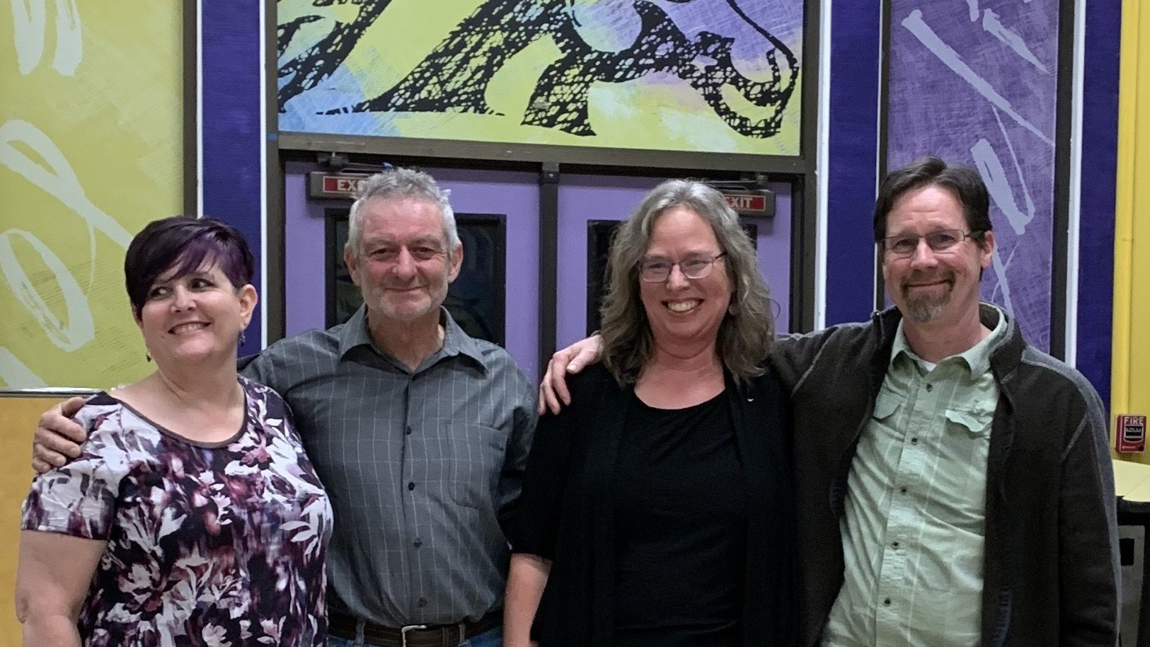 Teachers who volunteered to get the program off the ground in 2010 are pictured above: Ami Barker, Reikor Deacon, Patricia Jekel, and David Leonard.