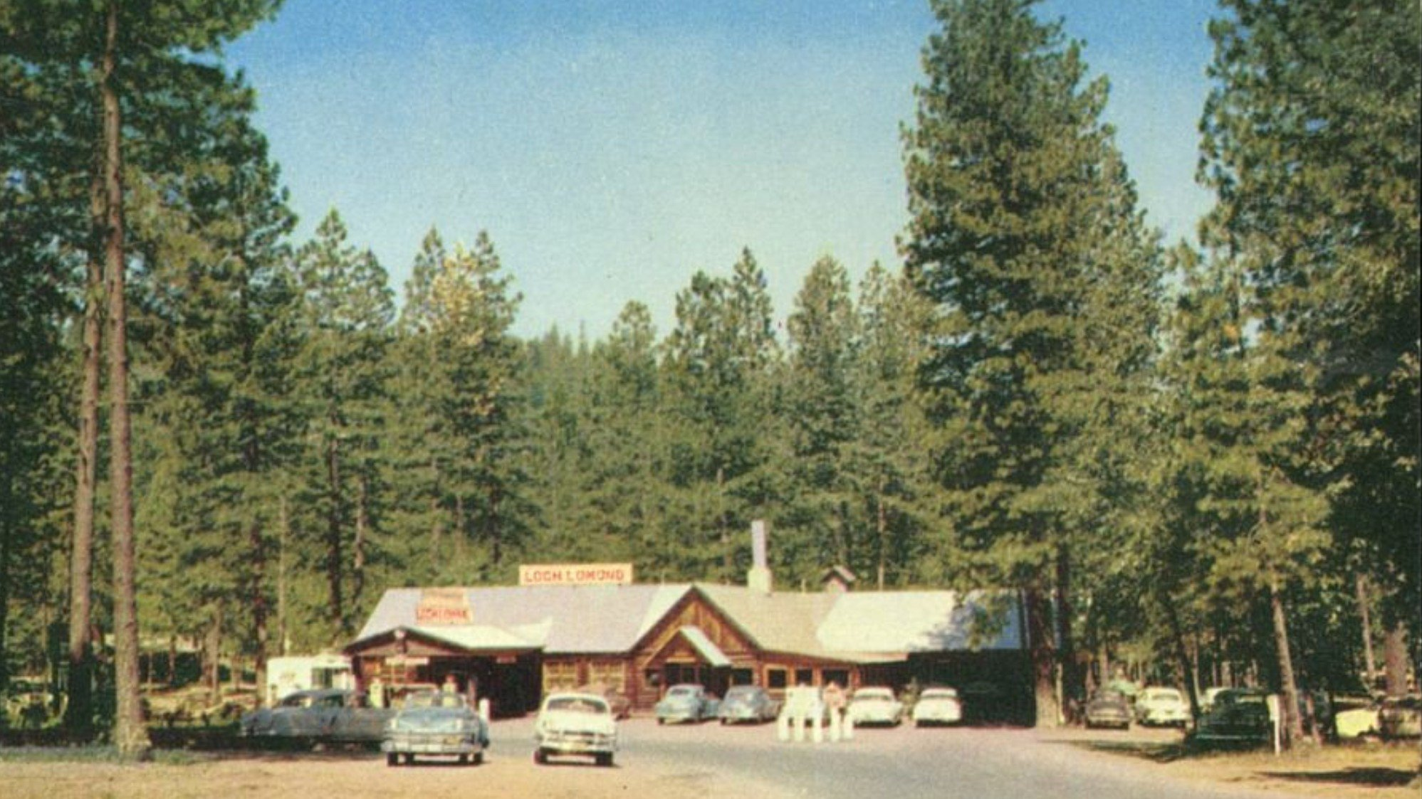 Loch Lomond Resort in its heyday. Photo Courtesy Douglas Prather.